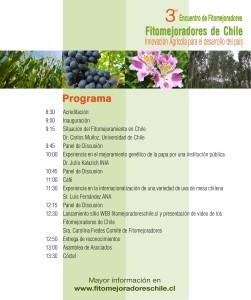 Programa Evento Fitomejoradores 2014